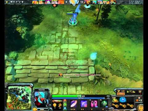видео: dota 2. omg-imba(x3) игра за вивера?! о_О