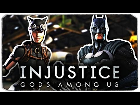 Injustice: Gods Among Us. ДАША ПРОТИВ БРЕЙНА