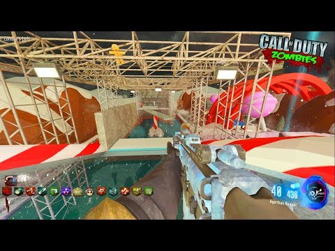 """WIPEOUT """"PARKOUR"""" ZOMBIES CHRISTMAS CHALLENGE MAP! - CALL OF DUTY BLACK OPS 3 ZOMBIES"""