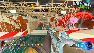 "WIPEOUT ""PARKOUR"" ZOMBIES CHRISTMAS CHALLENGE MAP! - CALL OF DUTY BLACK OPS 3 ZOMBIES"