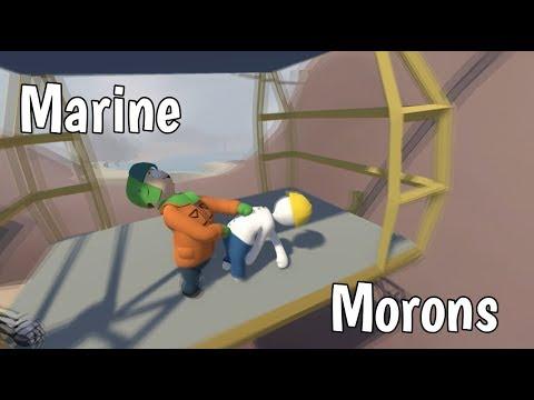 Human Fall Flat - Marine Morons