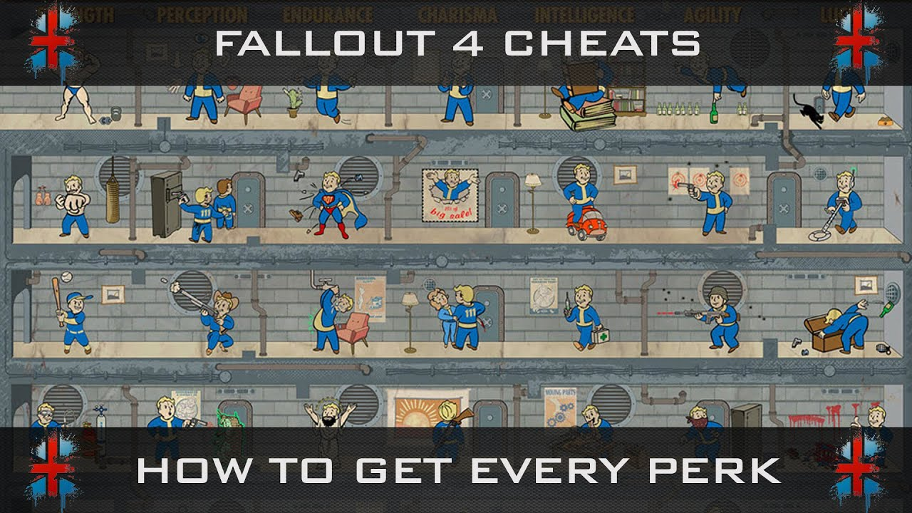 Fallout 4 Cheats: How To Level Up & Get Every Perk Within 1hr