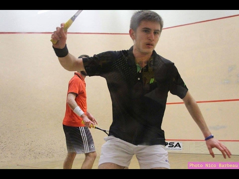 Open national de Toulouse, demi-finale Aubert bat Ford 3/0