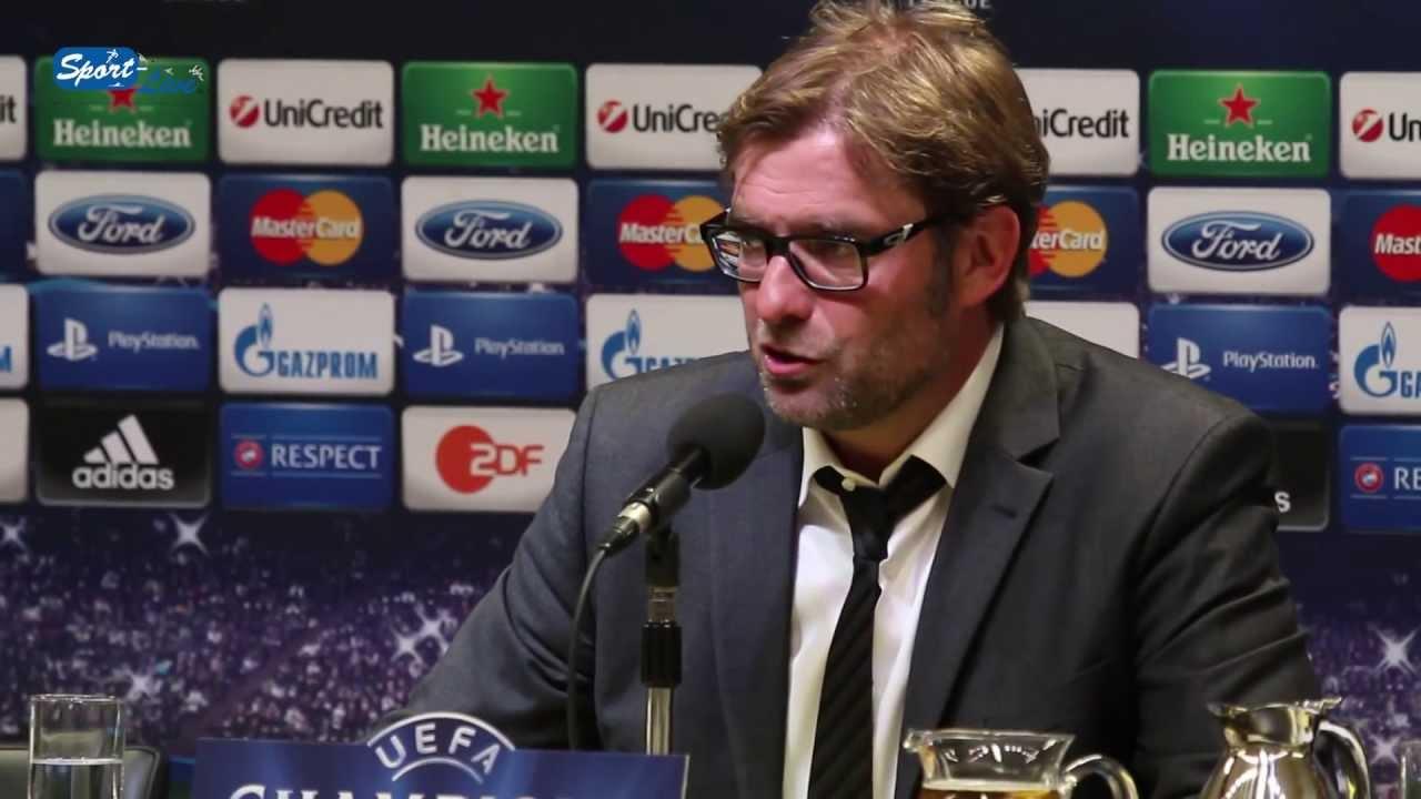 BVB Pressekonferenz vom 24. April 2013 nach dem Champions League Halbfinal Hinspiel gegen Real Madrid