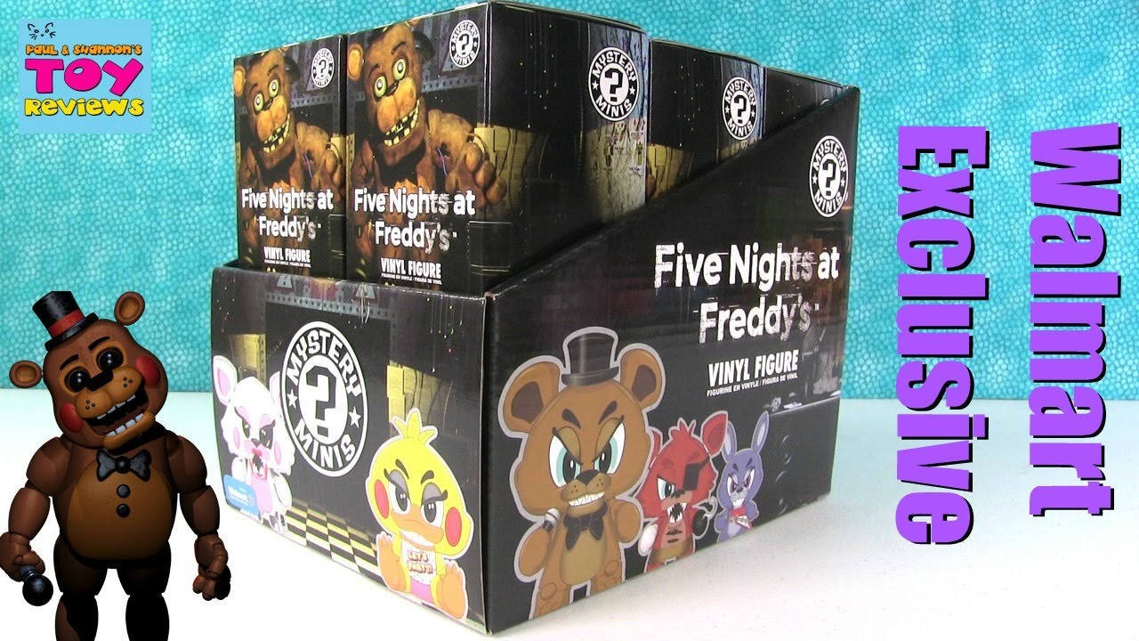 Fnaf Walmart Exclusive Funko Mystery Minis Full Case