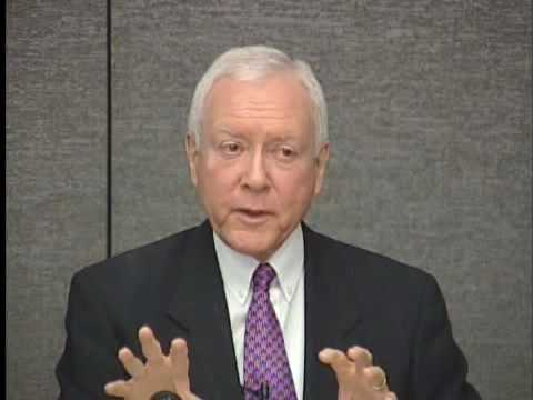 Health Care Reform Newsmaker Series: Sen. Orrin Hatch