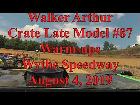 Walker Arthur warmups at Wythe Raceway - 8/4/9