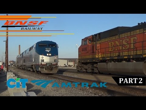 Railfanning BNSF Southern Transcon in Fort Madison, IA