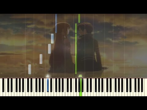 Sword Art Online - A Tender Feeling - Emotional Piano Tutorial (Synthesia)