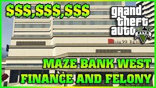 MAZE BANK WEST | Finance and Felony | GTA 5 Online DLC