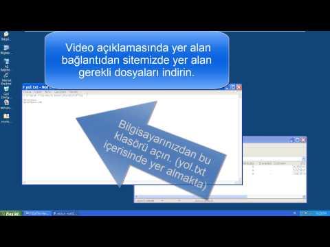Windows XP altında Movie Maker ile 720p ve 1080p video kaydetmek
