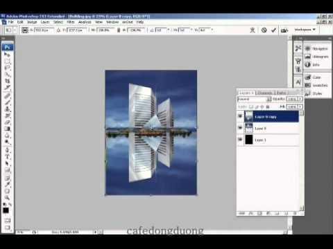 Photoshop CS4 - Phan 1 - Bai 32 - Bong do 1