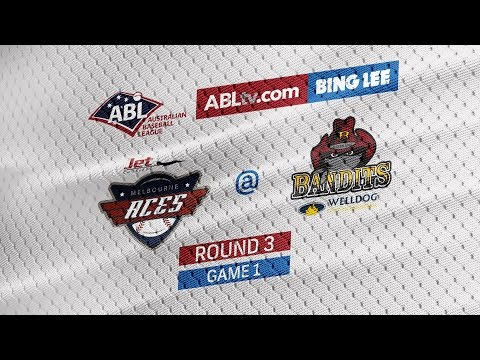 REPLAY: Melbourne Aces @ Brisbane Bandits, R3/G1 #ABLAcesBandits