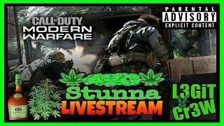 Call Of Duty Modern Warfare 2v2 Alpha! Friday Night Grown Folks Sipping & Gaming On Modern Warfare!