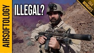 Why Are Foam Suppressors Illegal in the US? | Airsoftology Q&A Show