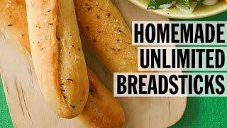 Homemade Unlimited Breadsticks | Food Network