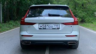 Volvo V60 Cross Country - как едет? Разгон 0 - 100