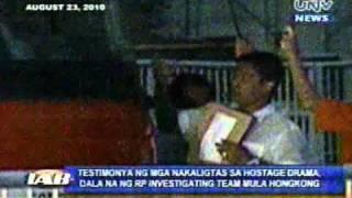 iab testimonya ng mga nakaligtas sa hostage drama dala na ng rp investigating team mula hongkong.flv