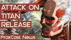 Sword Art Online 3? & Attack on Titan 2 ist da! | Proxer NewsCast #19