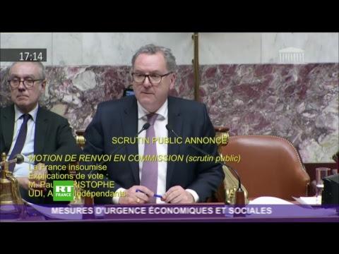 Assemblée nationale : les mesures d'urgence économiques et sociales débattues