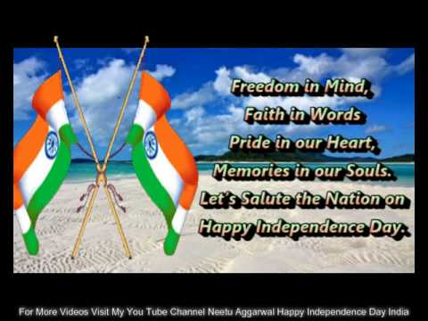 Happy Independence Day India Wishes Greetings 15 August Quotes Sms Sayings Whatsapp Video