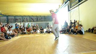 Battle La 58ème - Caserne Niel Bordeaux - Démo Juge popping - U-Ghost