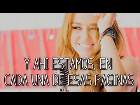Miley Cyrus ~ I'll Always Remember you ❤ [traducida en español]