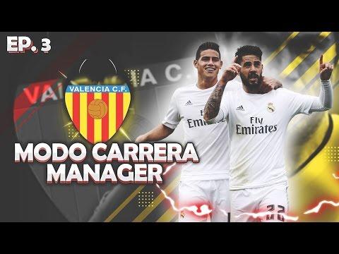 ¡ISCO-MATA LOS GALÁCTICOS! | FIFA 17 Modo Carrera ''Manager'' Valencia C.F - EP 3