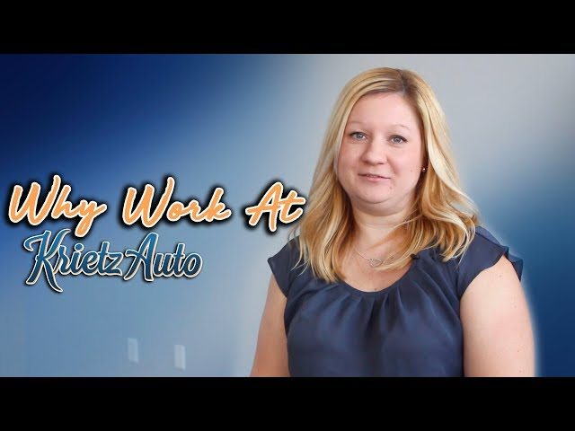 Why Work At Krietz Auto-Amy