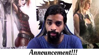 """Announcement !!!! """"Taking Recommendations """""""