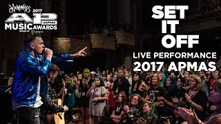 APMAs 2017 Performance: SET IT OFF rocks it in the aisle!