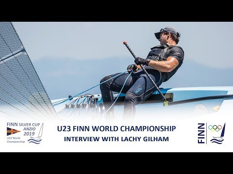 2019 Finn Silver Cup - Interview with Lachy Gilham