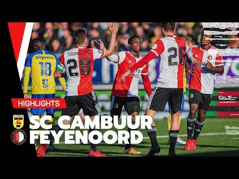 Cambuur Feyenoord Goals And Highlights