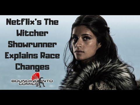 Bounding Live! Witcher EP Lauren Hissrich Explains Race Changes!
