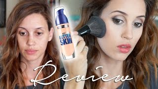 NEW Maybelline SuperStay Better Skin Foundation Demo & Review