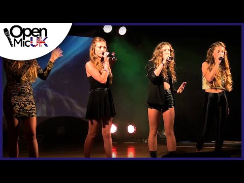 YESTERDAY/SURVIVOR - BEATLES/DESTINY'S CHILD performed by BORN2BLUSH at Open Mic UK