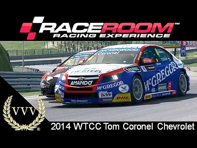 R3E 2014 WTCC Tom Coronel Chevrolet Gameplay
