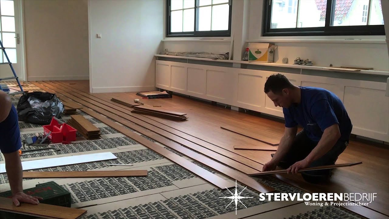Moso bamboe vloeren youtube