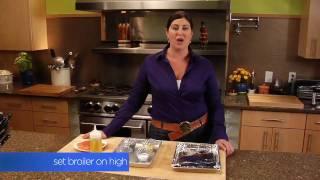 Broiled Lemon Pepper Salmon