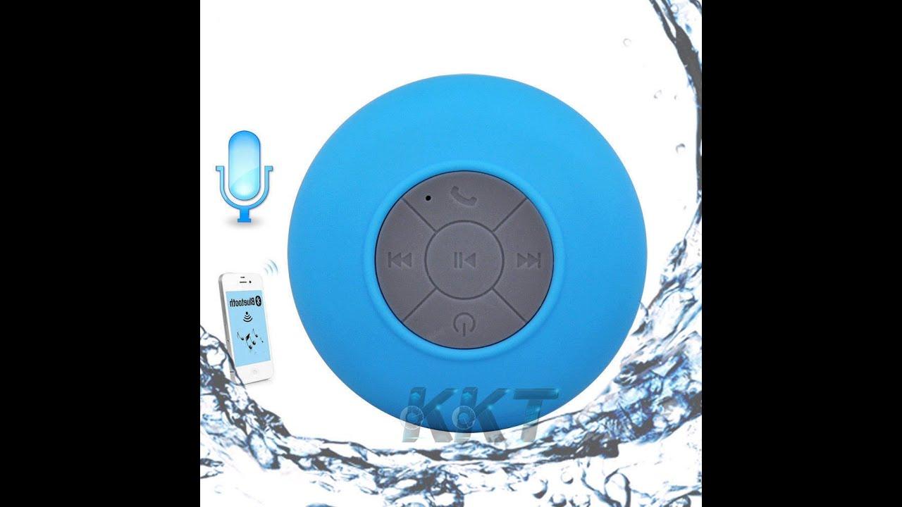 bluetooth speaker shower portable waterproof wireless car handsfree receive call