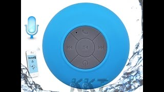 Bluetooth Speaker Shower Portable Waterproof Wireless Car Handsfree Receive Call