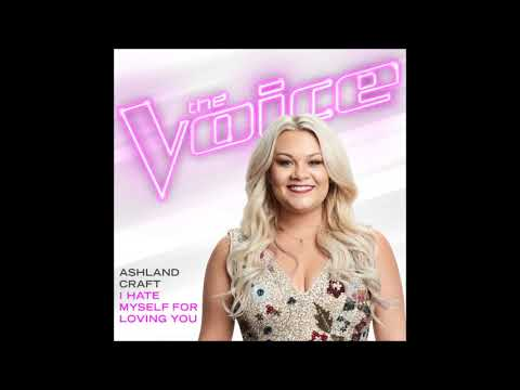 Ashland Craft - I Hate Myself For Loving You - Studio Version - The Voice 13