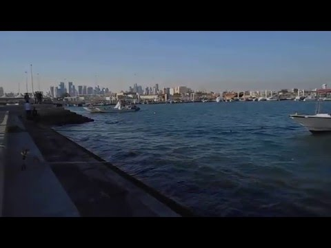 Doha Sea Side - State of Qatar - Persian Gulf - Middle East Asia