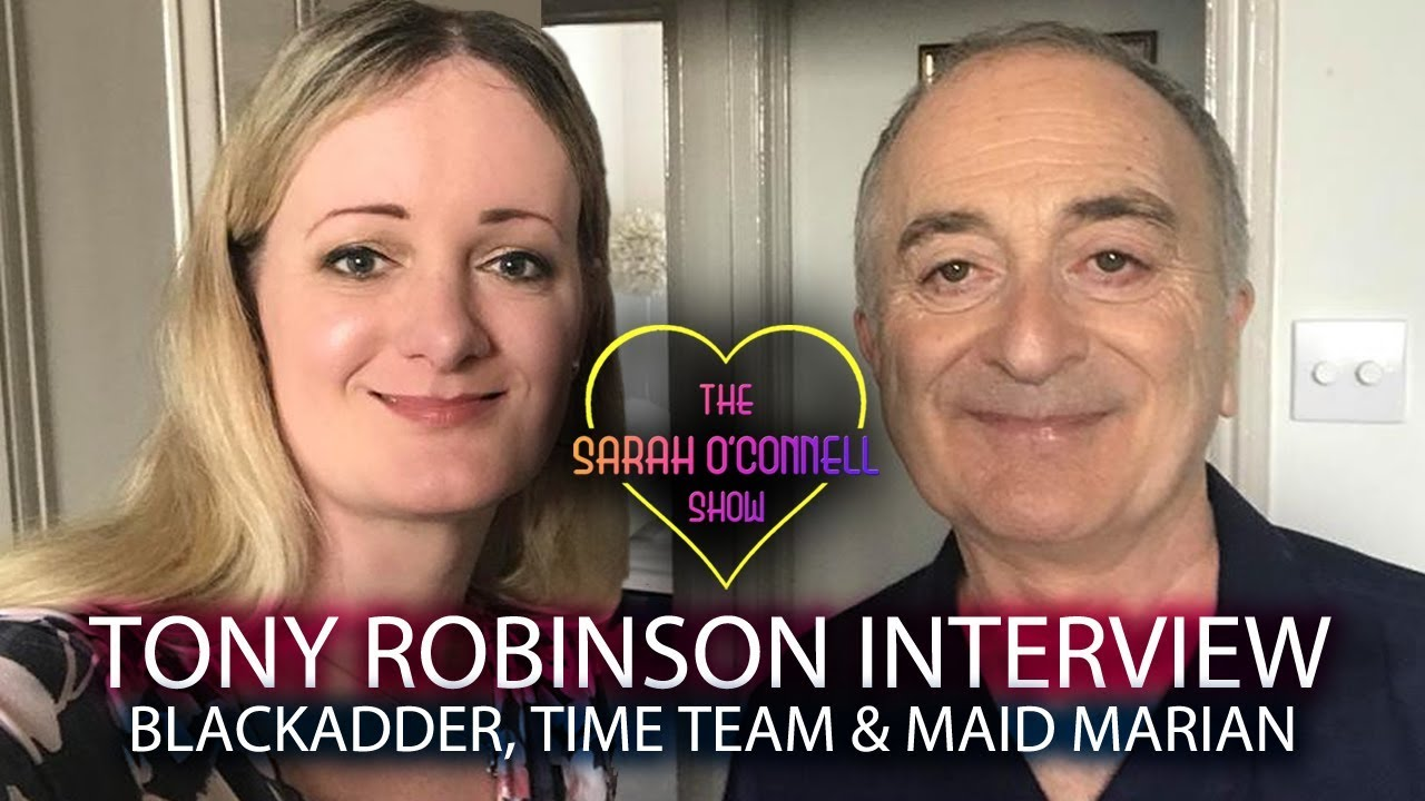 Tony Robinson interview - Blackadder, Time Team & Maid Marian! - YouTube