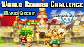 Mario Kart Wii - Mario Circuit WR Challenge (Item Rain)