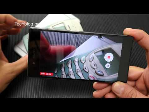 Sony Xperia Z5 hands-on (Greek)