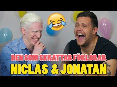 DEN SOM SKRATTAR FÖRLORAR #18 - TORRA SKÄMT OCH ORDVITSAR MED NICLAS & JONATAN