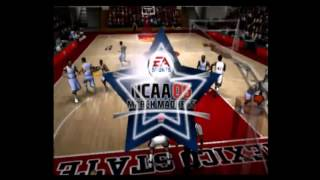 NCAA 06 March Madness UNC Tar Heels Vs NMS Aggies Part 1
