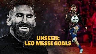 Messi's pre-game magic show