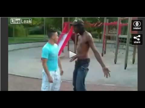 Rencontre dans un square